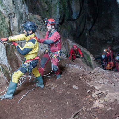 2017 Eskişehir Mayıslar mağarasındaki kurtarma tatbikatı