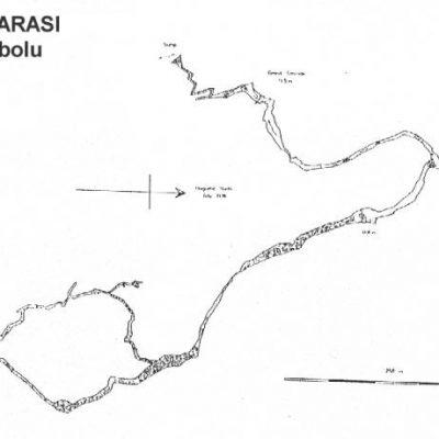Mencilis Mağarası Haritası