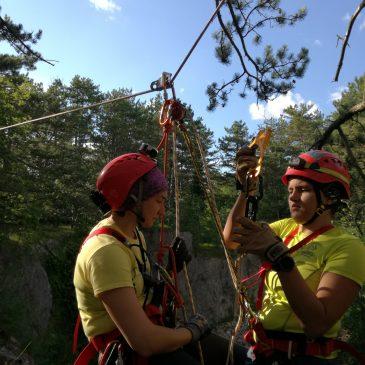 Kadın Mağara Kurtarmacılar Çalıştayı – Slovenya