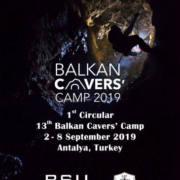 13th Balkan Cavers Camp, Antalya, Turkey (2019)