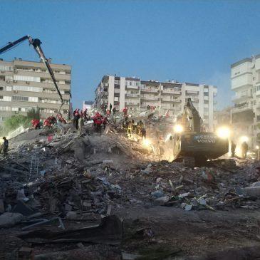 Mağara Kurtarma Grubu İzmir Depremi Operasyonu