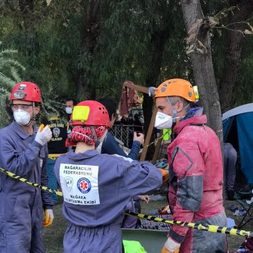 Mağara Kurtarma Grubu İzmir Depremi Operasyonu Sona Erdi